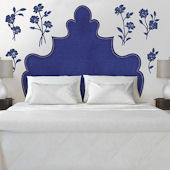 Fathead Martha Stewart Shaped Headboard Flower