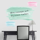 Fathead Martha Stewart Watercolor Dry Erase Decals