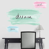 Fathead Martha Stewart Watercolor With Words Decal