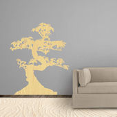 Fathead Martha Stewart Wood Grain Bonsai Decal