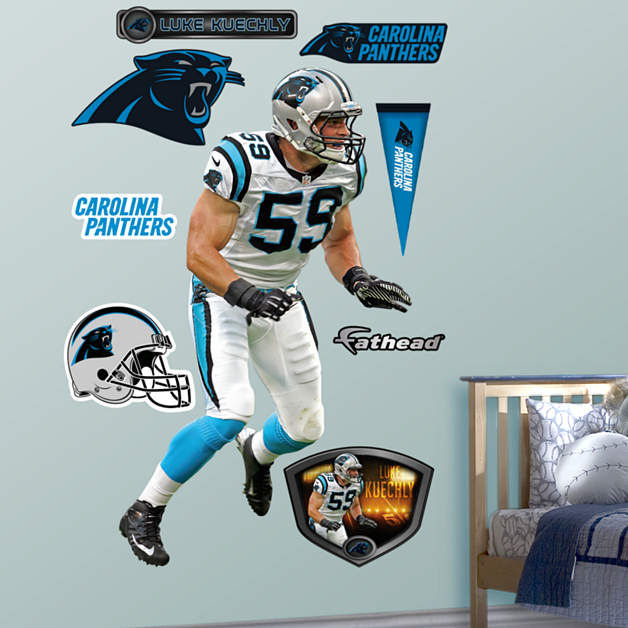 Fathead Carolina Panthers Luke Kuechly Decal