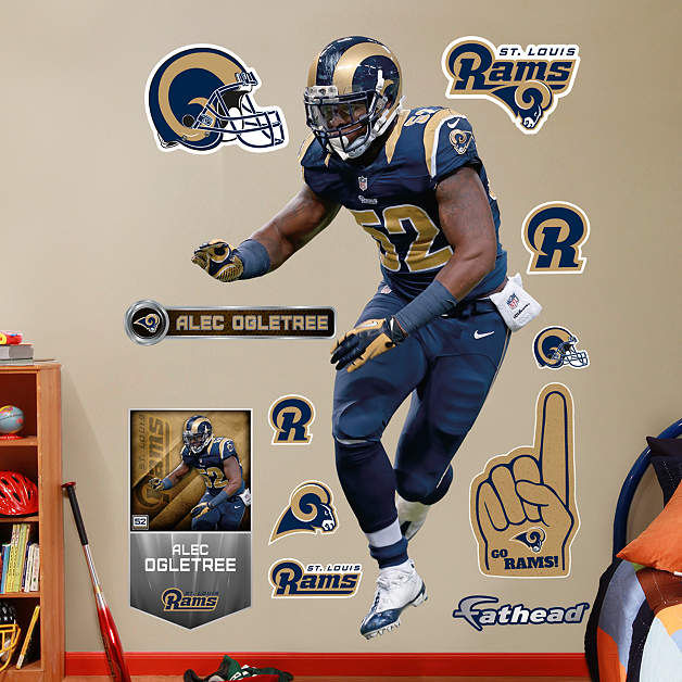 Home Decorators Outlet St Louis: Fathead St Louis Rams Alec Olgetree Wall Graphic