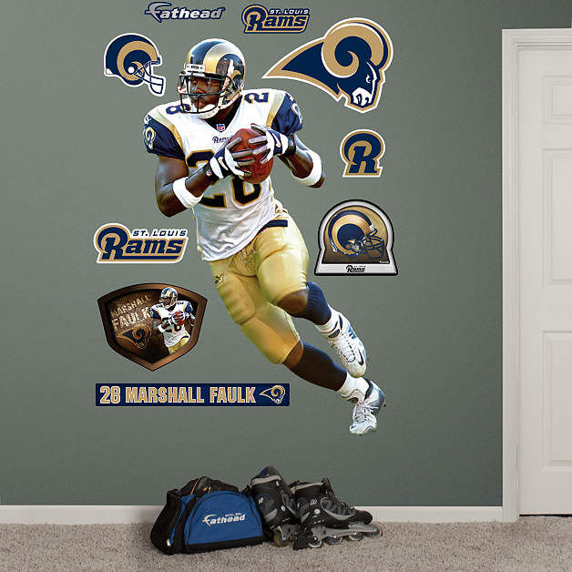 Home Decorators Outlet St Louis: Fathead St Louis Rams Marshall Faulk Wall Decal