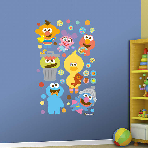Fathead Sesame Street Baby Collection Decals - Wall Sticker Outlet