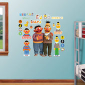Fathead Sesame Street Bert And Ernie Wall Graphic