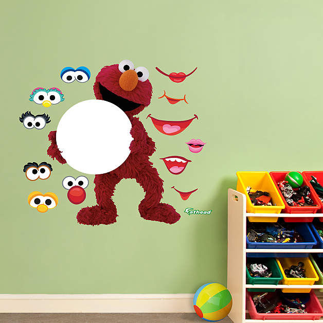 Fathead Sesame Street Elmo Dry Erase Wall Graphic - Wall Sticker Outlet