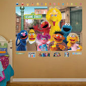 Fathead Sesame Street Group Mural Wall Graphic