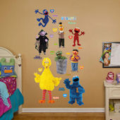 Fathead Sesame Street Collection Wall Graphics
