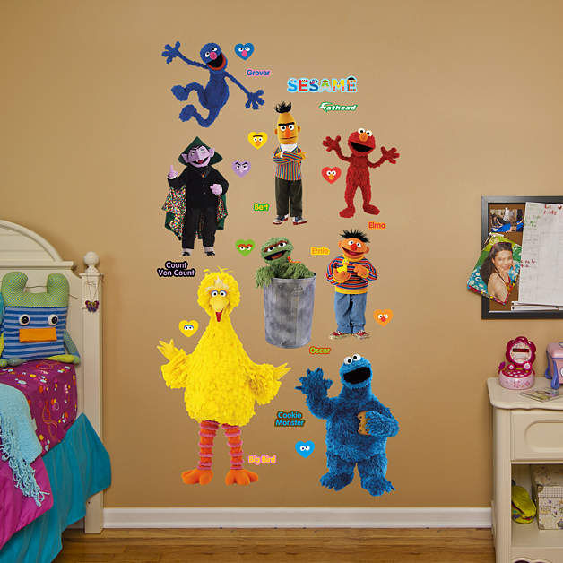 Fathead Sesame Street Collection Wall Graphics - Wall Sticker Outlet