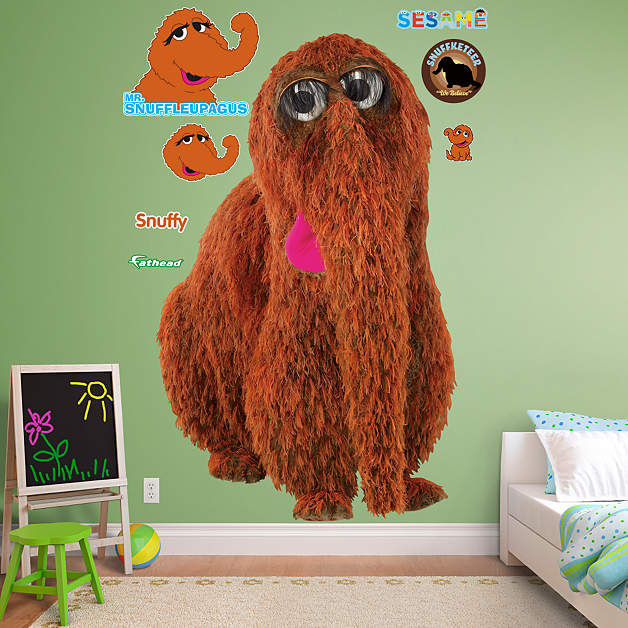 Fathead Sesame Street Snuffleupagus Wall Graphic - Wall Sticker Outlet