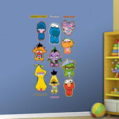 Fathead Sesame Street Zombie Collection Decals
