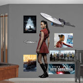 Star Trek Uhura Into Darkness Wall Graphic