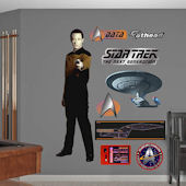 Star Trek Luitenant Commander Data Wall Graphic