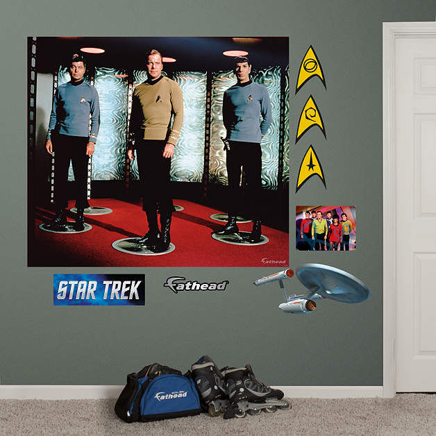 star trek original series crew wall mural 1000 images about wall mural ideas on pinterest wall
