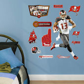 Fathead TB Buccaneers Mike Evans Jr Wall Graphic