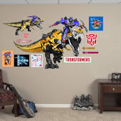 Fathead Grimlock And Optimus Prime Wall Graphic