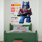 Fathead Tramsformers Optimus Prime Kreo Decal