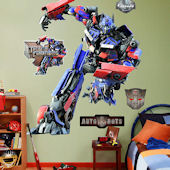 Fathead Tramsformers Optimus Prime Wall Graphic