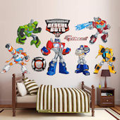 Fathead Transformers Rescue Bots Collection Decals