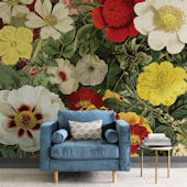 Urbanwalls Field of Flowers Wall Mural