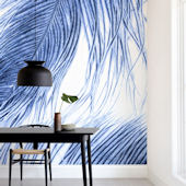 Minted Fine Feathered Repositionable Wall Mural