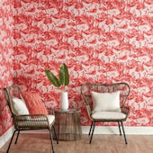 Flamingo Peel And Stick Wallpaper