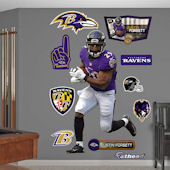 Fathead Baltimore Ravens Justin Forsett Decal