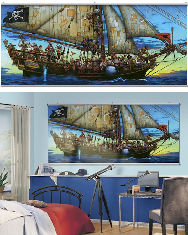 Forty Thieves Wall Minute Mural - Wall Sticker Outlet