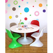 Bright Colored Dots  Peel and Stick Wall Stickers