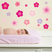 Cherry Blossoms  Peel and Stick Wall Stickers SALE