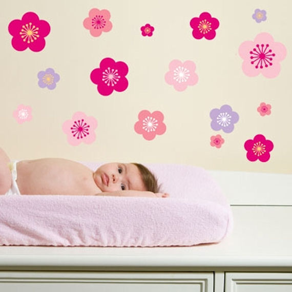 Cherry Blossoms  Peel and Stick Wall Stickers SALE - Wall Sticker Outlet