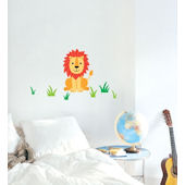 Lion Peel and Stick  Wall Stickers