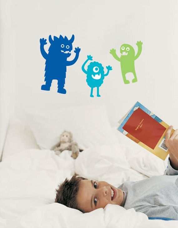 Monsters  Deco Wall Stickers SALE - Wall Sticker Outlet