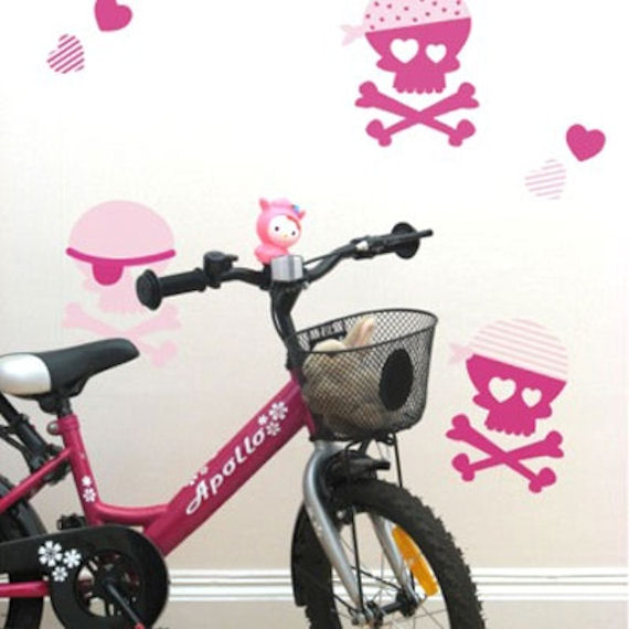 Pink Pirates  Peel and Stick Wall Stickers SALE - Wall Sticker Outlet