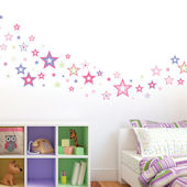 Shimmering Stars Wall Decals SALE