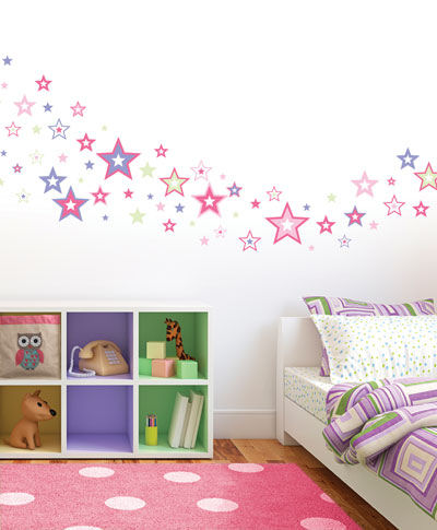 Shimmering Stars Wall Decals SALE - Wall Sticker Outlet