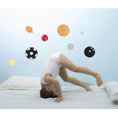 Sports Balls Peel and Stick  Wall Stickers SALE