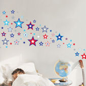 Super Stars Wall Decals SALE