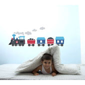 Train Peel and Stick  Wall Stickers