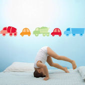 Transport  Peel and Stick  Wall Stickers SALE
