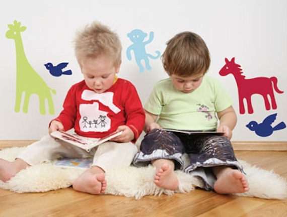 Zoo Animals  Peel and Stick Wall Stickers SALE - Wall Sticker Outlet