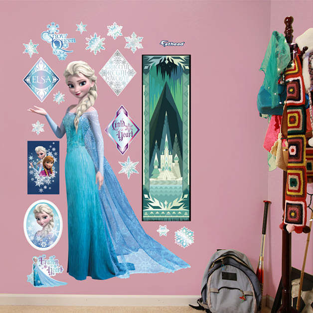 Fathead Frozen Snow Queen Elsa Decal - Wall Sticker Outlet