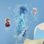 Disney Frozen Ice Palace with Anna and Elsa Decals