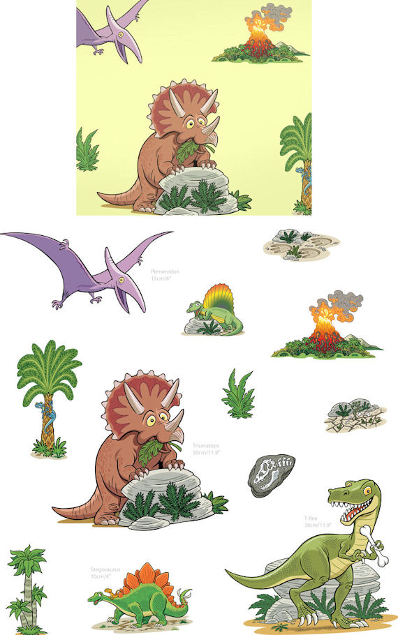 fun to see dinosaurs wall stickers fun to see pennants wall decal wayfair