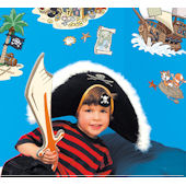 Fun To See Pirate Wall Stickers