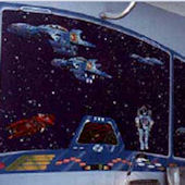 Outer Space Large Wall Mural Kit