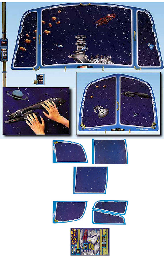Outer Space Small Create A Wall Mural Kit - - Kids Wall Decor Store
