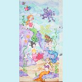 Mermaid Fairy Tail Growth Chart