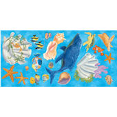 Under The Sea Prepasted Cutouts