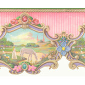 Carousel Wall Paper Border